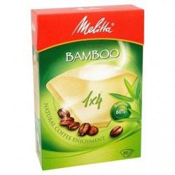 Melitta Bamboo Filtres 80 pièces (1x4)