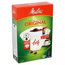 Melitta Filtres à Café Original 1x4 80 Pièces + 1 Sachet Détartrant 20 g