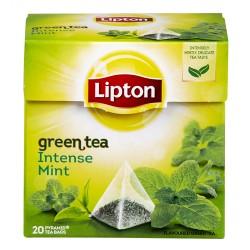 Lipton The Vért Menthe Intense 20 Sachets 32 g