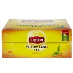 Lipton Thé Noir Yellow Label 100 Sachets