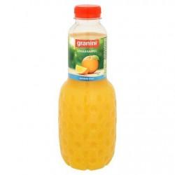 GRANINI jus d'orange sans pulpe  1L *Jus d'orange *Pur jus et concentré *100 % de fruits *Sans pulpe