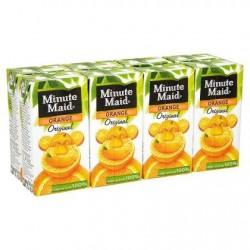 MINUTE MAID jus d'orange  8x20cl *Jus d'orange *À base de concentré *100 % de fruits *Sans pulpe