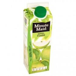MINUTE MAID jus de pomme  1L *Jus de pomme *À base de concentré *100 % de fruits *Sans pulpe