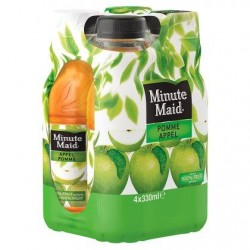 Minute Maid Pomme 4 x 330 ml