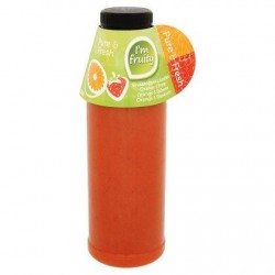 Fruity Line Pure & Fresh Orange & Fraise 500 ml