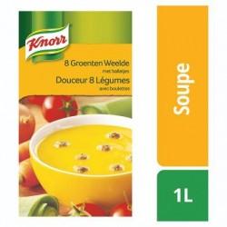 KNORR class.douceur 8 légumes boulet.  1L *Potage aux légumes avec boulettes