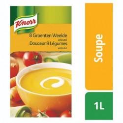 KNORR class.soupe douc. 8 légu. velou.  1L *Velouté de légumes