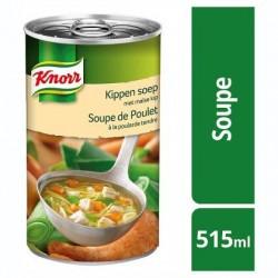 KNORR potage poularde tendre 515ml *Potage de poulet à la poularde tendre