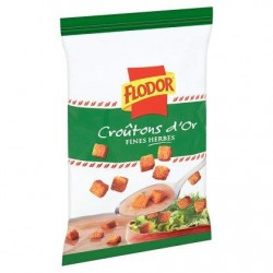 FLODOR CROUTONS D'OR fines herbes75g *Croûtons aux fines herbes