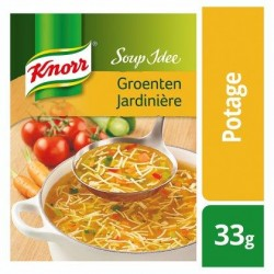 KNORR SOUP IDÉE  jardinière-vermicel.33g *Potage aux légumes avec vermicelles