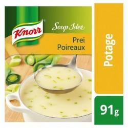 Knorr Soup Idée Déshydratée Soupe Poireaux et Crème 91 g