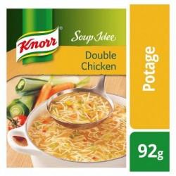 KNORR SOUP IDÉE Double Chicken 92g *Potage au poulet