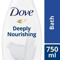 DOVE bain Indul. Cream/Fine Silk 750ml *Crème de bain *parfums:-Indulging