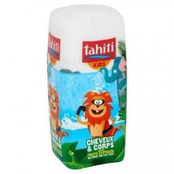 TAHITI kids 2-en-1 assortiment300ml *Gel douche*Fruits exotiques*pH-neutre, ne piquepas les yeux