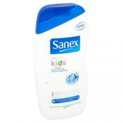 SANEX Dermo bain & douche kids 500ml *Gel bain & douche *Dermo kids *pH-neutre, hypoallergénique