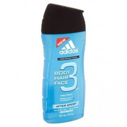 ADIDAS n1 After Sport 400ml *Gel douche *After Sport Corps, cheveux & visage