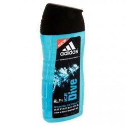 Adidas Ice Dive 2 in 1 Marine Extract Refreshing Hair & Body Shower Gel 250 ml