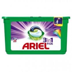 ARIEL3  en 1 pods Color  38 doses *38 doses *Superconcentré *Pour les couleurs