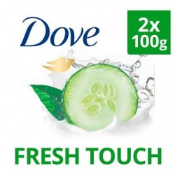 Dove Savon Fresh Touch 2 x 100 g