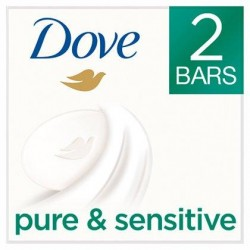Dove Savon Sensitive 2 x 100  g