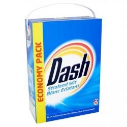 DASH Blanc Eclat. lessive pdre  4,9kg 76d *76 doses *Concentré, dose moyenne: 65 g *Pour le blanc *Blanc éclatant