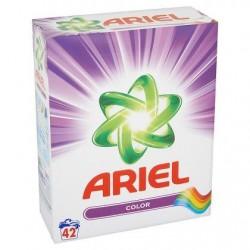 ARIEL Color lessive poudre  2,7 kg 42 d. *42 doses *Concentré, dose moyenne: 65 g *Lessive universelle