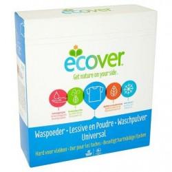 ECOVER poudre à less. Universal 3kg  40d. *40 doses *Concentré, dose moyenne: 75 g *Lessive universelle