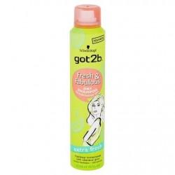 got2b Fresh & Fabulous Shampooing Sec Extra Fresh 200 ml