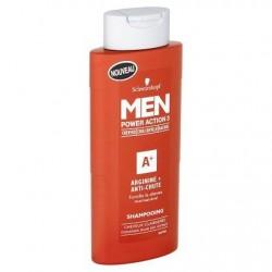 Schwarzkopf Men Power Action 3 Arginine + Anti-Chute Shampooing 250 ml