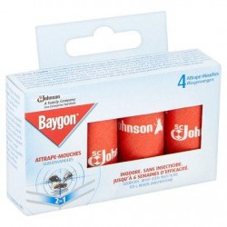 Baygon 4 Attrape-Mouches 2 in 1