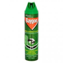 Baygon Contre Cafards et Fourmis 2 in 1 400 ml