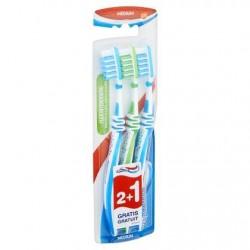 Aquafresh Flex Int. Medium Brosse à Dents 2+1 Gratuit