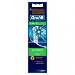 Oral-B CrossAction Brossettes De Rechange Pour Brosse À Dents Électrique 2