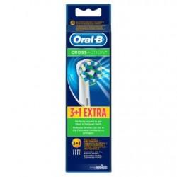 Oral-B CrossAction Brossettes De Rechange Pour Brosse À Dents Électrique 4