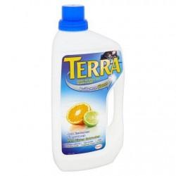 TERRA pour sols brillants  900 ml *Sols *Liquide *Extrait de citron, capuchon antifuite