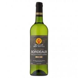 Belgian Red Devils Vin de Bordeaux blanc sec 75 cl