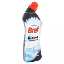 BREF WC 6x Effect Power blanc  750 ml *Toilettes *Gel *Bouteille ergonomique