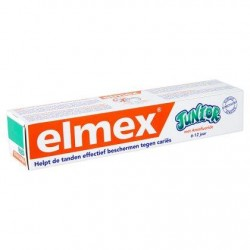 Elmex Junior Dentifrice au Fluorure d'Amines Olafluor 6-12 Ans 75 ml