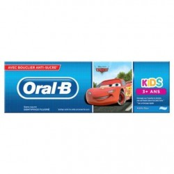 Oral-B Kids Cars Dentifrice 75 ml, 3 Ans Et Plus