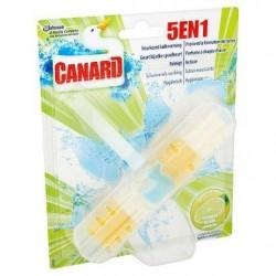 CANARD bloc W.-C. 5en1 Citron  1p. *Toilettes *Bloc toilettes*Parfums: citron