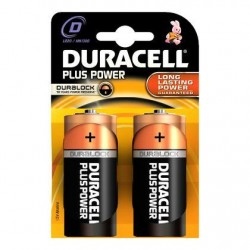 2 Plus Power Piles Alkaline D