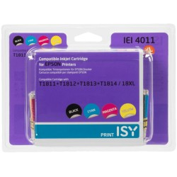 ISY IEI -4011 Noir - Cyan - Magenta - Jaune