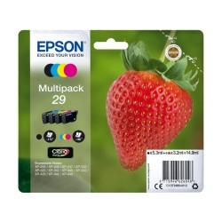 EPSON 29 Noir - Cyan - Magenta - Jaune (C13T29864022)