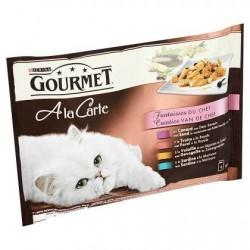 GOURMET A la carte fantaisies chef  4x85g