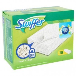 SWIFFER Ambipur lingettes  18 pièces *Lingette sèche