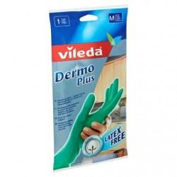 VILEDA Dermoplus gant M  1 paire *Non poudrés