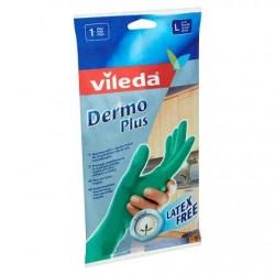 VILEDA Dermoplus gant L  1 paire  Non poudrés