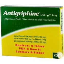 Antigriphine Comprimés 20 x 500mg