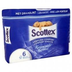 Scottex Papier Toilette coussiné x 6