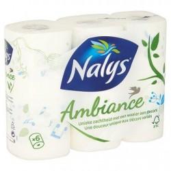 Nalys Ambiance Papier Toilette 3 Épaisseurs x 6